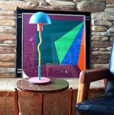 1980s Furniture Post Modern Design Vintage Mod Table Lamp 1980s Made In En U2026 Flickr