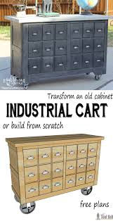 Free Wood Tool Box Plans by Industrial Cart Apothecary Cabinet Her Tool Belt