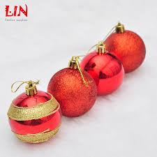 wholesale hanging christmas tree decoration powder painted light