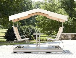 Outdoor Glider Rocker by Outdoor Glider With Canopy Overview