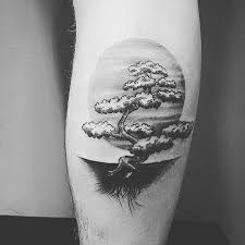10 peaceful bonsai tree tattoos tattoodo