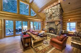 Log Home Decorating Tips Home Design Outside Room Ideas Log Cabin Interior With Regard To