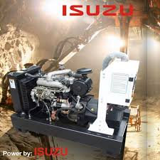 china diesel genset by isuzu engine 4jb1 4jb1t 4jb1ta electric