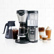 Coffee Maker With Grinder And Thermal Carafe Ninja Coffee Bar With Glass Carafe