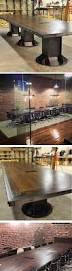 i beam conference table before and after shots by vintage
