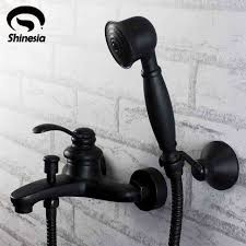 Bronze Bathtub Faucet Aliexpress Com Buy Oil Rubbed Bronze Bathtub Faucet Set W