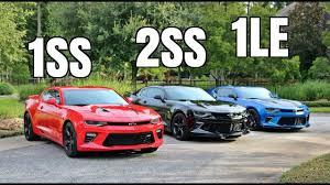 chevrolet camaro 1ss 2017 camaro 1ss vs 2ss vs 1le