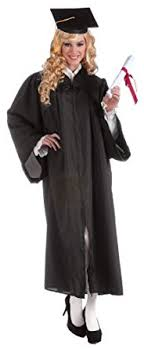 graduation robe forum novelties women s costume graduation robe black