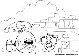unique comics animation angry birds coloring pages