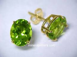 peridot earrings peridot earrings jewelinfo4u gemstones and jewellery