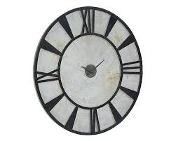 Magnolia Home By Joanna Gaines Metal Industrial Wall Clock