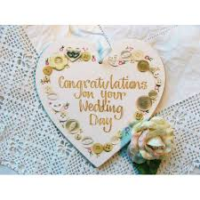 wedding day congratulations congratulations wedding day heart plaque adornment icon cards
