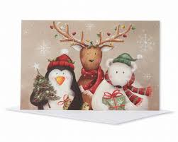 winter friends christmas boxed cards 14 count shop american