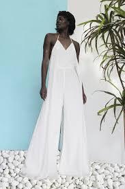 wedding dress jumpsuit ama jumpsuit white andrea iyamah
