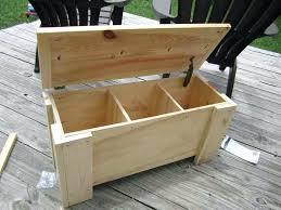 Garden Storage Bench Diy Storage Bench Seat Wooden Bench Plansoutdoor Outdoor Wood