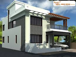 surprising saddlebrown house front design duplexhousedesign 39bd9