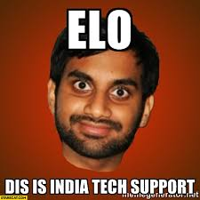 Tech Meme - elo dis is india tech support meme starecat com