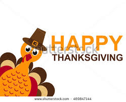 thanksgiving day sticker turkey stock vector 724532545