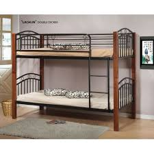 Bunk Bed  Timber Posts Converts To Two Single Beds In Oak - Timber bunk bed