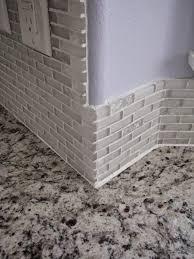 caulking kitchen backsplash my so called diy tiling backsplash in a bay window with