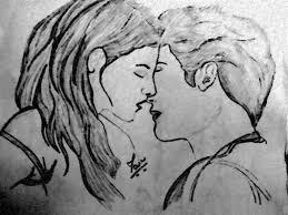 romantic pencil sketches love couple sketch drawing pencil sketch