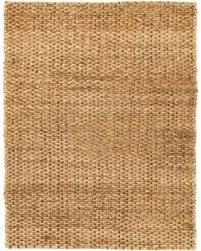 Jute Area Rugs Don T Miss This Deal Cira Jute Area Rug Brown And Gold 5 X8
