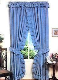 Criss Cross Curtains Stacey One Rod Criss Cross Ruffled Priscilla Window