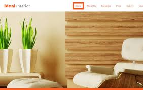Websites For Interior Designers Ideal Interior Design Free Bootstrap Website Template