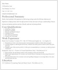 resume for no experience cerescoffee co