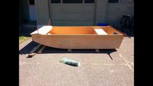 Wooden Jon Boat Plans Free by Building The Caddy Wampus Jon Boat Build Youtube