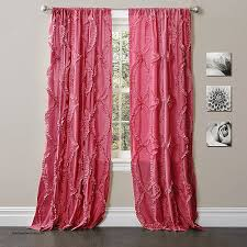 Ruffled Pink Curtains Curtains Walmart Ruffle Shower Curtain Beautiful Curtain