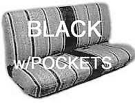 Dodge Truck Bench Seat Truck Bench Seat Cover Saddle Blanket Black 1pc All Full Size Ford