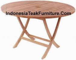 Round Teak Table And Chairs Best Price Teak Furniture From Indonesia Teak Wood Outdoor
