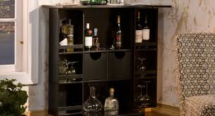 Small Floor Cabinet With Doors Bar Awesome Tall Corner Bar Cabinet Hardwood Corner Curio