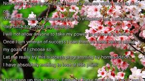 Cherry Blossom Facts by Program Your Subconscious Mind For Success The Easy Way Youtube