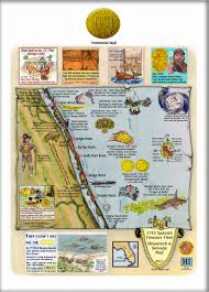 Florida Shipwrecks Map Dateline St Augustine Florida 2nd International Conference