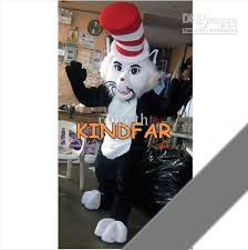 cat in the hat costume cat in the hat mascot costume dr seuss character fancy