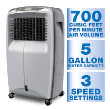 What Does 500 Sq Feet Look Like by Arctic Cove 700 Cfm 3 Speed Portable Evaporative Cooler For 500 Sq