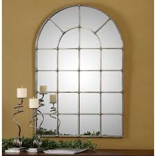 uttermost barwell arch window mirror u0026 reviews wayfair stacy