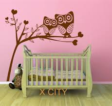 aliexpress com buy owl tree hearts cute scenery vinyl wall decal aliexpress com buy owl tree hearts cute scenery vinyl wall decal art sticker for children kids baby room stencil mural home decoration s m l from reliable