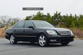 lexus sedan models 2005 2005 lexus ls 430 information and photos momentcar