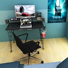 bright gaming computer desk one of the best gaming desks of 2015