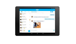 skype for android tablet apk skype gains a refreshed interface and new features on android