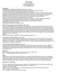 Interior Design Sample Resume Fiber Resume Ruby Virtren Com