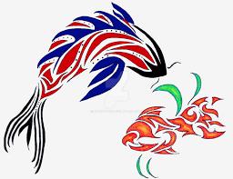 tribal fish designs by cdnstudio on deviantart