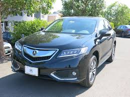 new 2018 acura rdx awd with advance package suv in los gatos