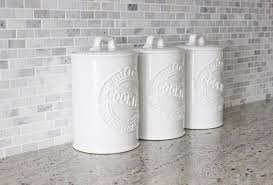 white kitchen canisters farmhouse kitchen canisters white farmhouse design and furniture