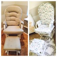 Padding For Rocking Chair Craigslist Deals Diy Rocking Chair For Your Baby U0027s Room Miss