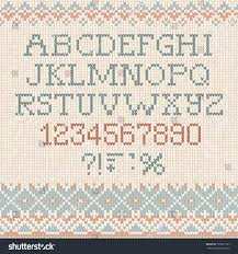 knitting letters pattern gallery craft pattern ideas