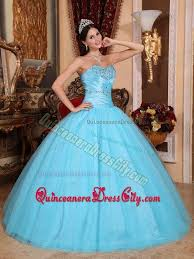 baby blue quinceanera dresses ruches and beading sweetheart baby blue back out sweet 16 dresses